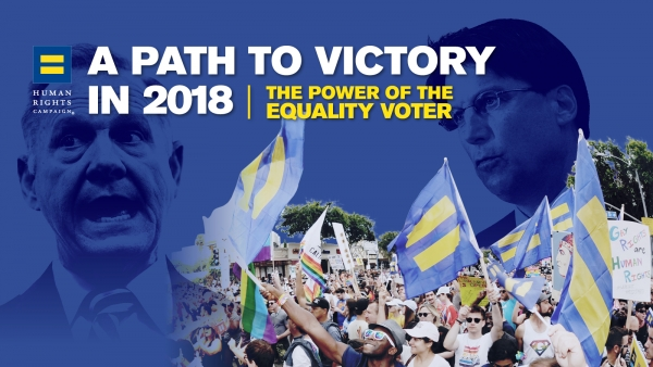 NEW REPORT: A Path to Victory in 2018 — HRC and the Power of the Equality Voter
