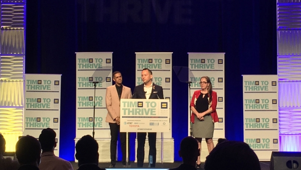 HRC honra a las víctimas de Pulse en la conferencia Time to THRIVE 2018