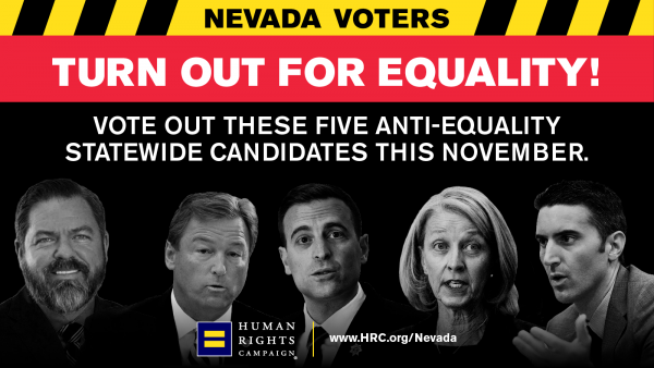 HRC Exposes Nevada's Slate of Anti-Equality Statewide Candidates