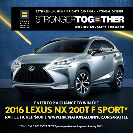 Lexus; HRC National Dinner; Raffle