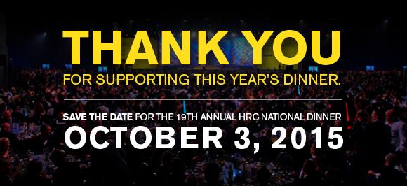 2015 HRC National Dinner