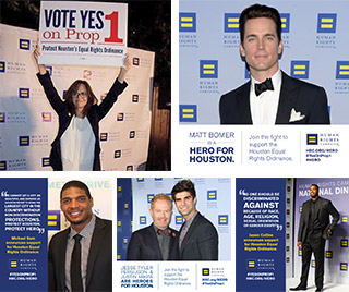 Support from Celebrities and Activists