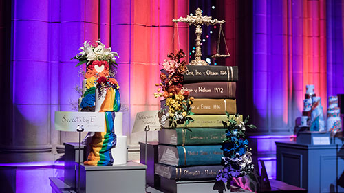 Chefs for Equality; Cakes; Washington National Cathedral
