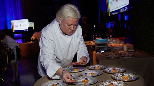 Chefs for Equality; Washington National Cathedral; Amaryllis Floral + Event Design; Cindy Wolf; Charleston
