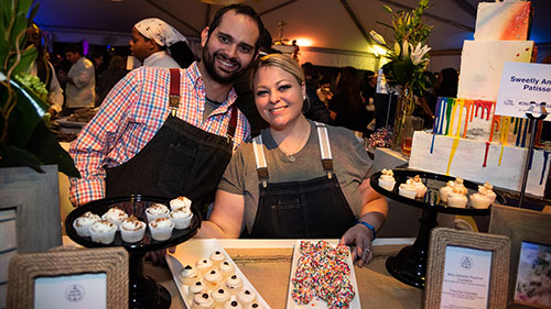 Chefs for Equality; Washington National Cathedral; Desserts; Pastry chefs