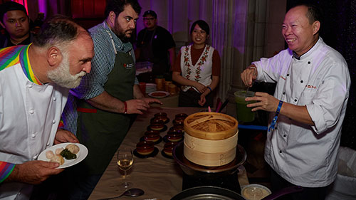 Chefs for Equality; Washington National Cathedral; Jose Andres; Peter Chang
