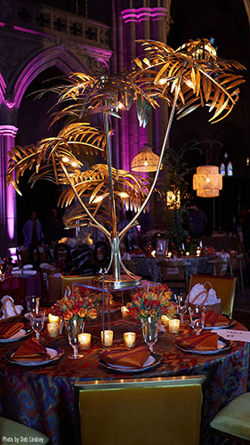 Chefs for Equality; Washington National Cathedral; Amaryllis Floral + Event Design