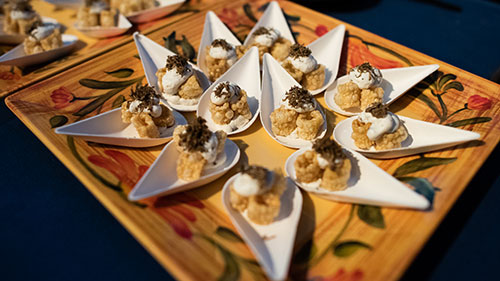 Chefs for Equality; Washington National Cathedral; Tasting Station