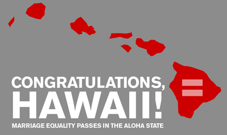 Hawaii Marriage Equality