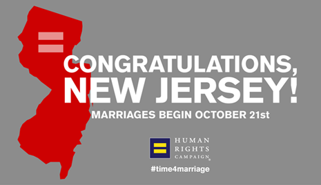 New Jersey Marriage Equality