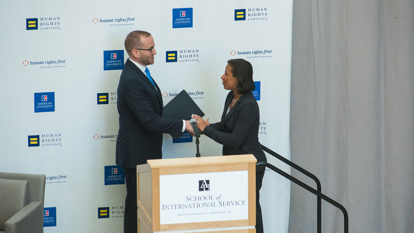 HRC President Chad Griffin Introduces Ambassador Susan Rice Ahead of  Historic Speech on LGBTQ Rights 7a164a8cb