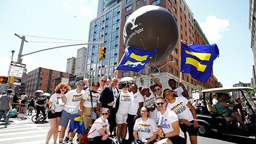 HRC President Alphonso David at World Pride in New York