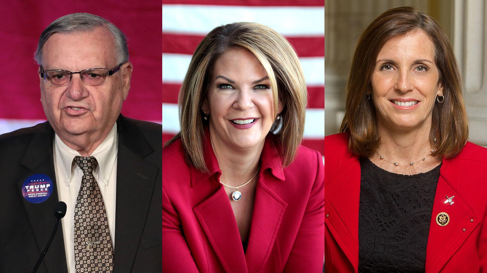 AZ Senate: Arpaio, Ward & McSally Share Dangerous Agenda, Unpopular Views on LGBTQ Issues