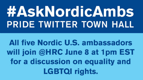 Ask Nordic Ambs Twitter Town Hall