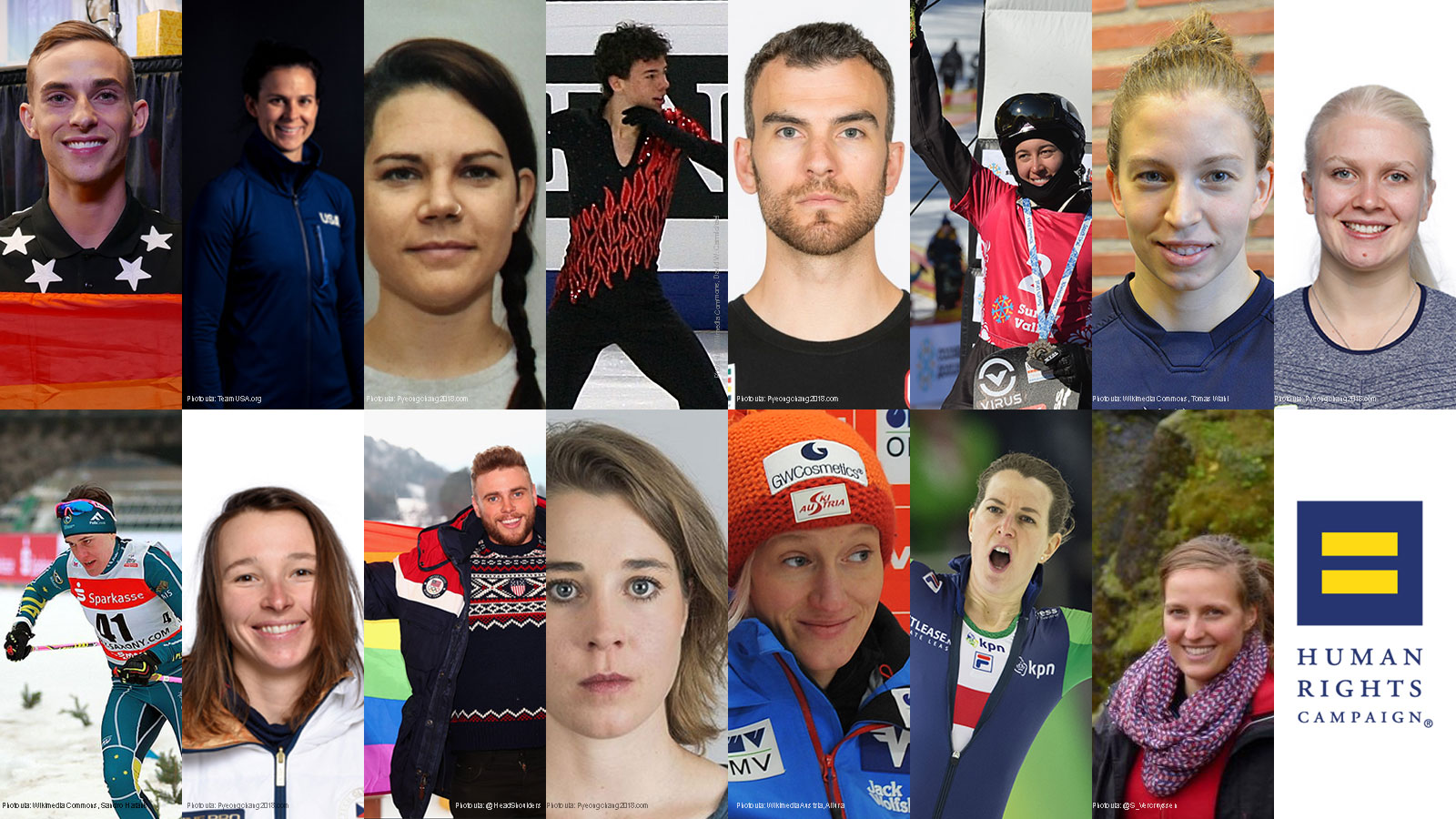 Meet the Openly LGBTQ Athletes Competing at the Winter Olympics