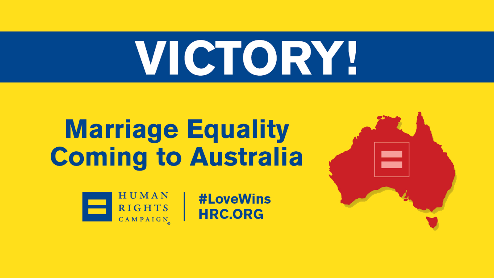 BREAKING: Australia to Become 25th Country With Marriage Equality