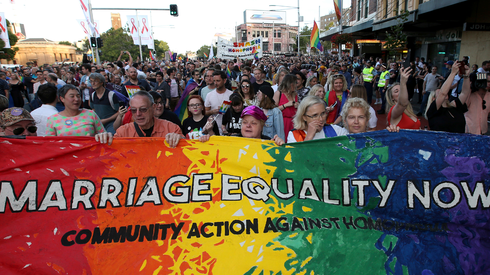 LGBTQ People and Allies Take to Social Media to Celebrate Australia's Marriage Equality Vote