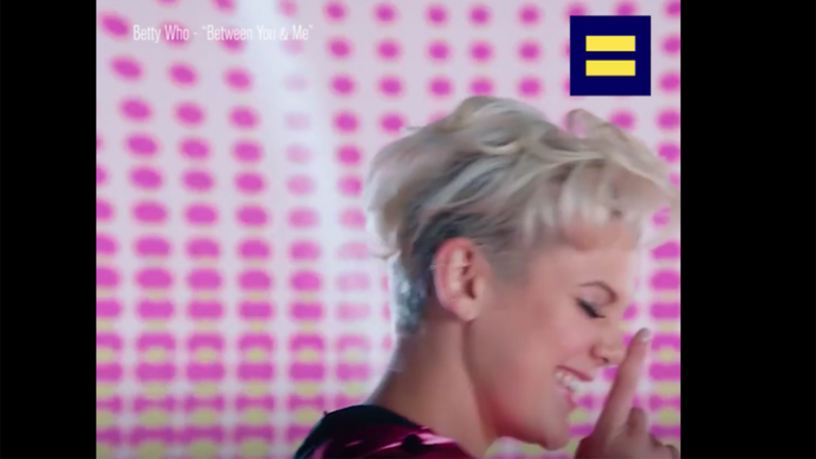 Artist Betty Who Joins HRC's Equality Rocks Campaign