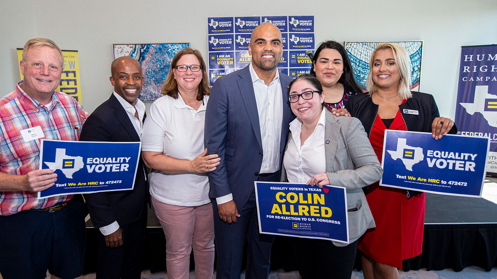 HRC Endorses U.S. Rep. Colin Allred and State Rep. Julie Johnson