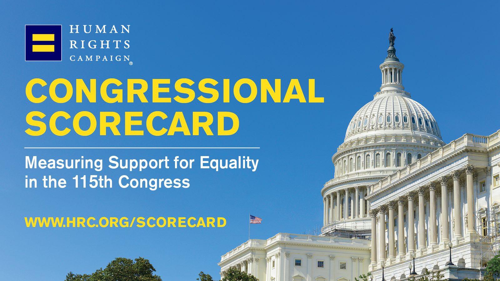 HRC Releases Scorecard of 115th Congress, Measuring Support for LGBTQ Equality