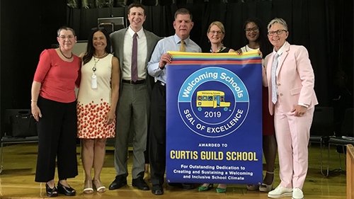 Boston, Curtis Guild Elementary School, Welcoming Schools, Seal of Excellence
