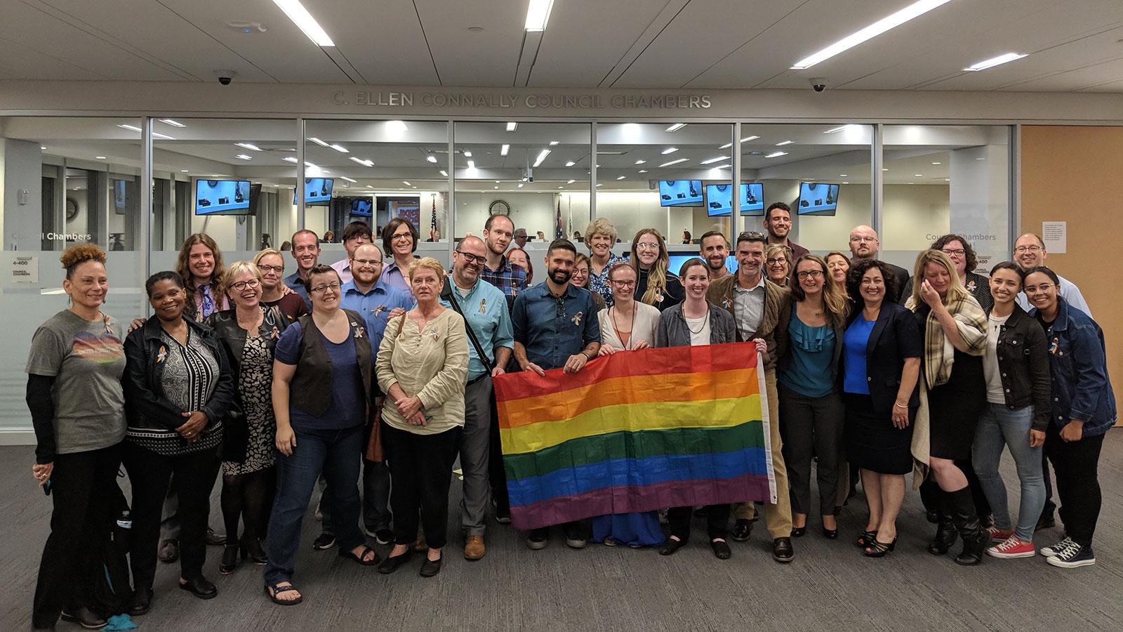 Victory! Cuyahoga County Council Passes LGBTQ-Inclusive Non-Discrimination Ordinance
