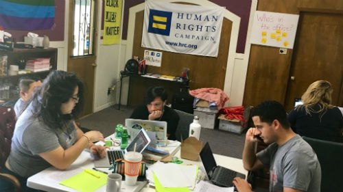 Phone Bank; Texas; Eriberto Velazquez