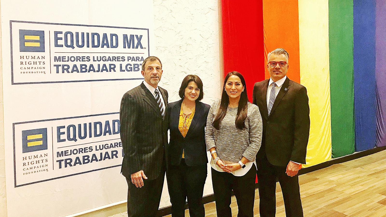 HRC Equidad MX dobla el número de empresas comprometidas con la inclusión LGBT en México