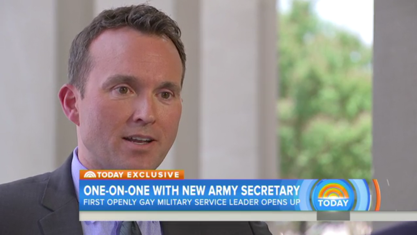 new concept 18bbe 289ee 16 Inspirational Voices for LGBTQ Equality in 2016  Secretary of the Army  Eric Fanning