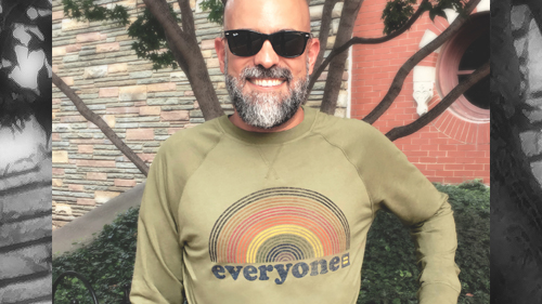 Shop, Equality, Everyone crewneck sweatshirt