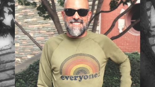 Shop, Equality, Everyone crewneck sweatshirt