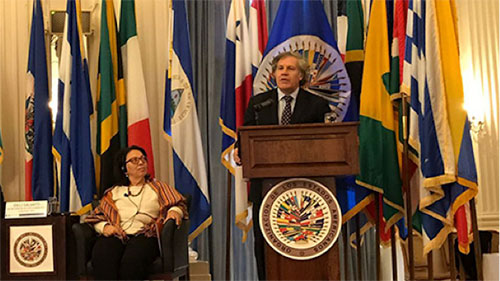 Inter-American Commission on Human Rights; Rapporteur Francisco José Eguiguren Praeli