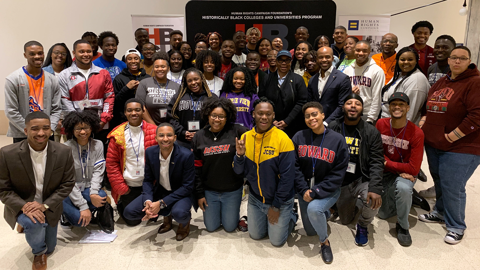 HRC Hosts Students from 33 HBCUs at Leadership Summit | Human ...