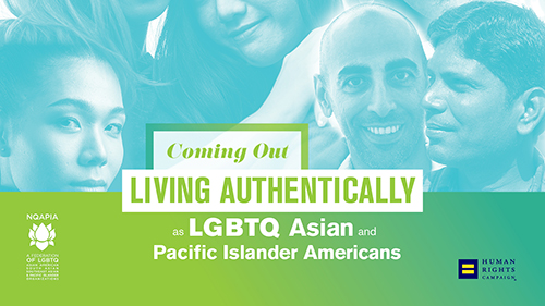 Coming Out, Living Authentically as API Americans,