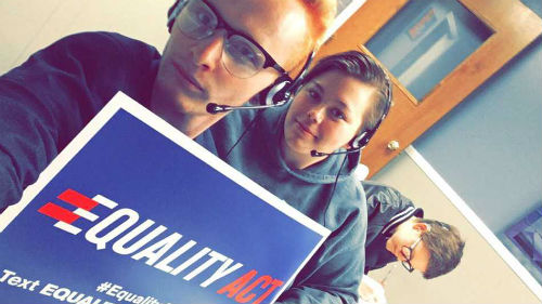 Equality Act, Phone Bank, Michigan