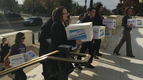 Taxpayer discrimination; HRC petition