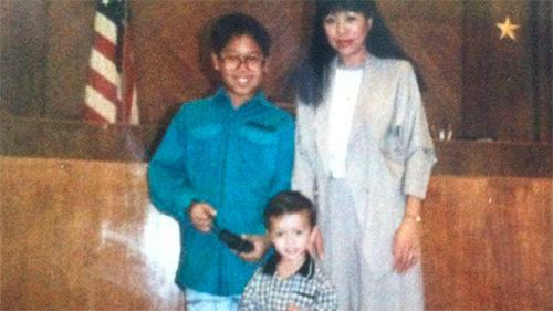 Justin Unga, Family, Immigrant Heritage Month