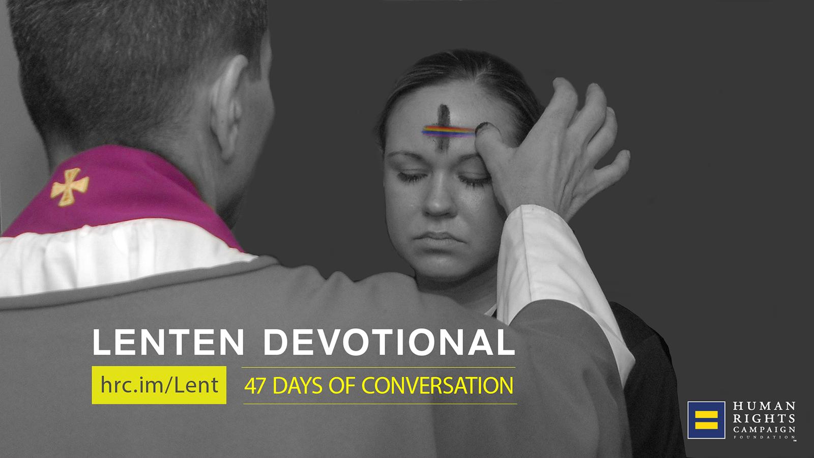 Lenten Devotional: Encouragement