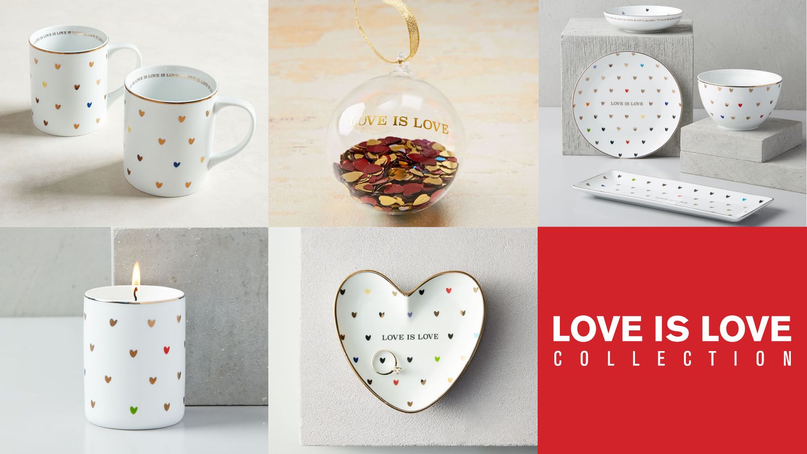 "HRC & West Elm Partner on Giving Tuesday ""Love Is Love"" Effort in Support of LGBTQ Equality"
