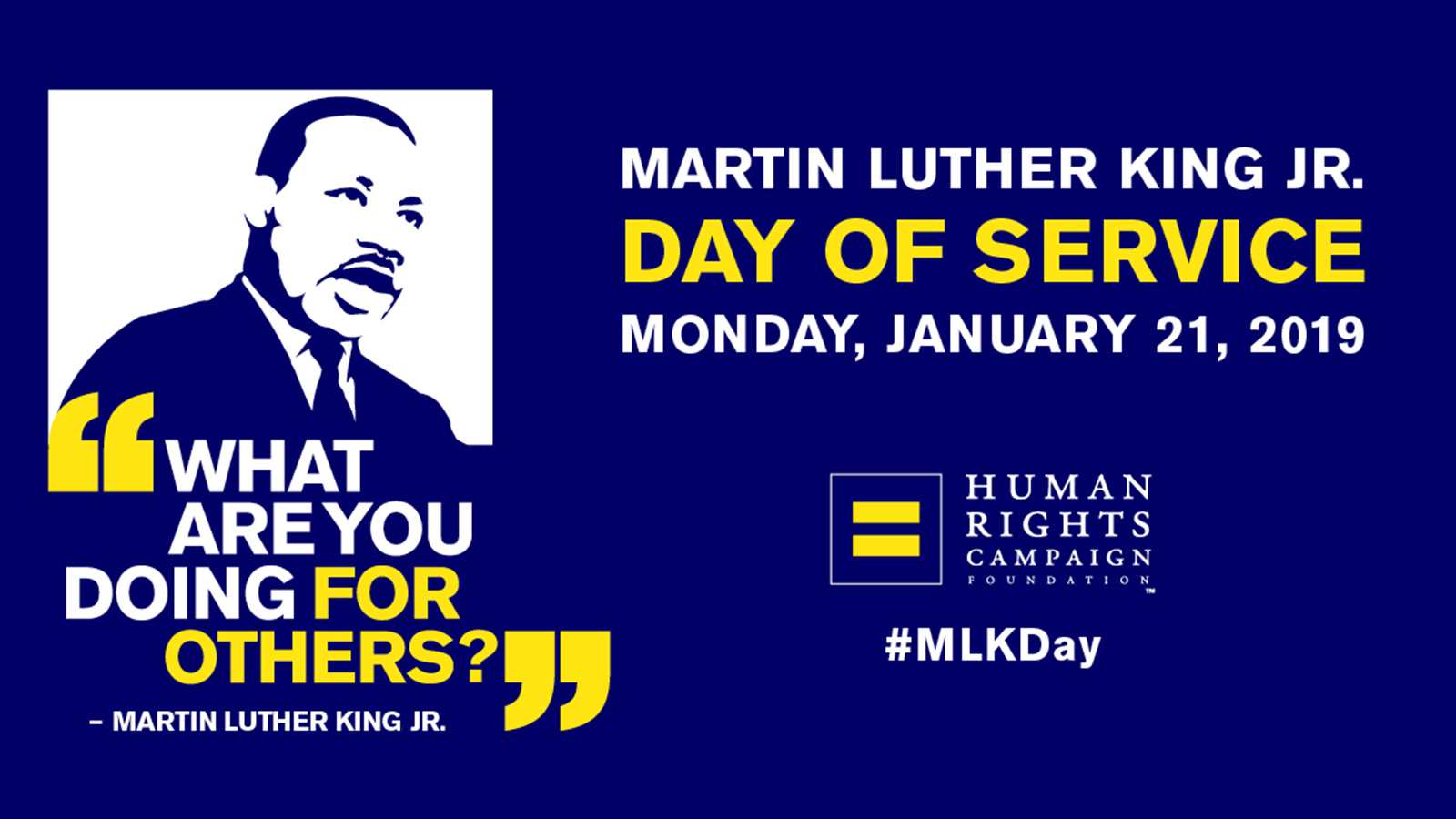 Martin Luther King Jr Day Of Service Human Rights Campaign
