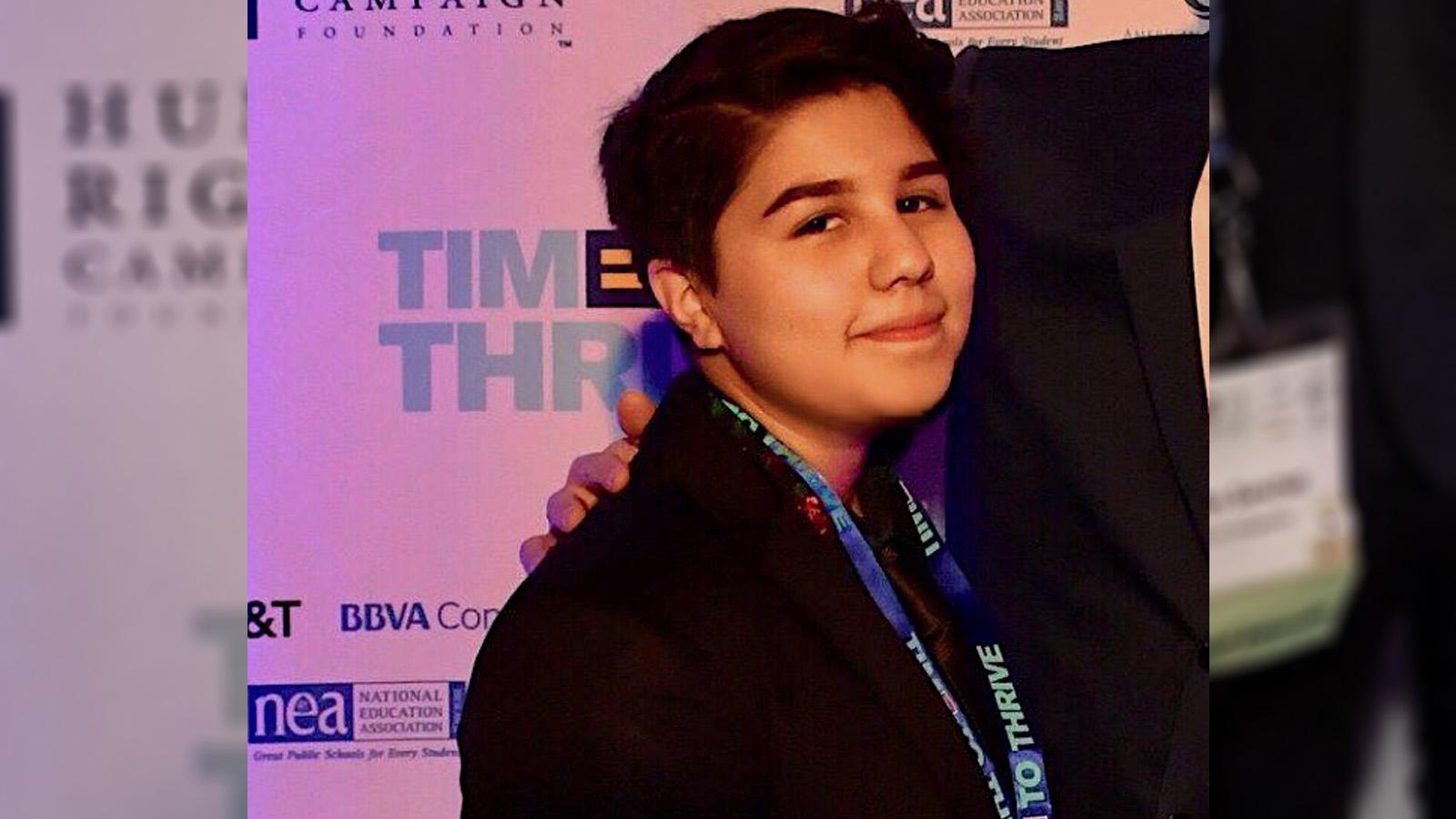 HRC Foundation Youth Ambassador Spotlight: Miles Sanchez