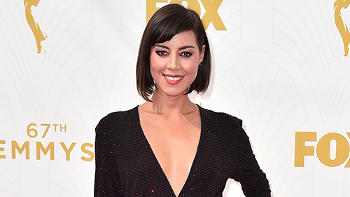 Aubrey Plaza; National Coming Out Day