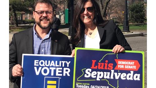 HRC New York Special Elections, Luis Sepulveda