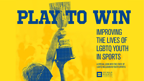 Play to Win, LGBTQ youth and sports