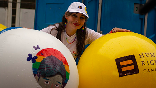 Colombia; Sergio Urrego Foundation; Alba Lucia Reyes; HRC Global; Partnerships in Pride