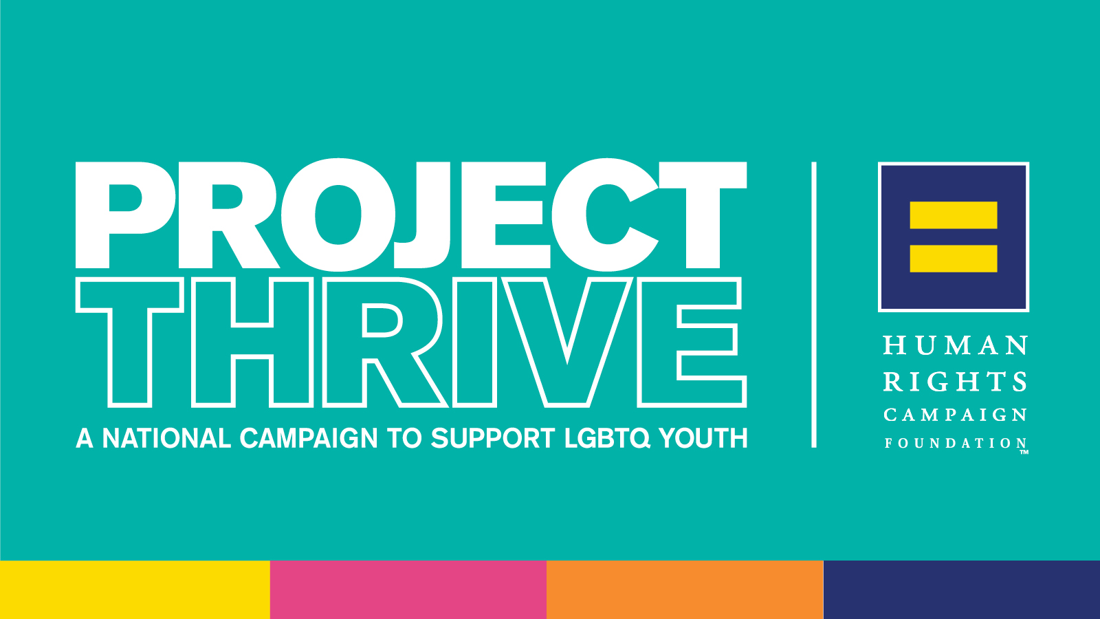 HRC Foundation and National Partners Launch Project THRIVE