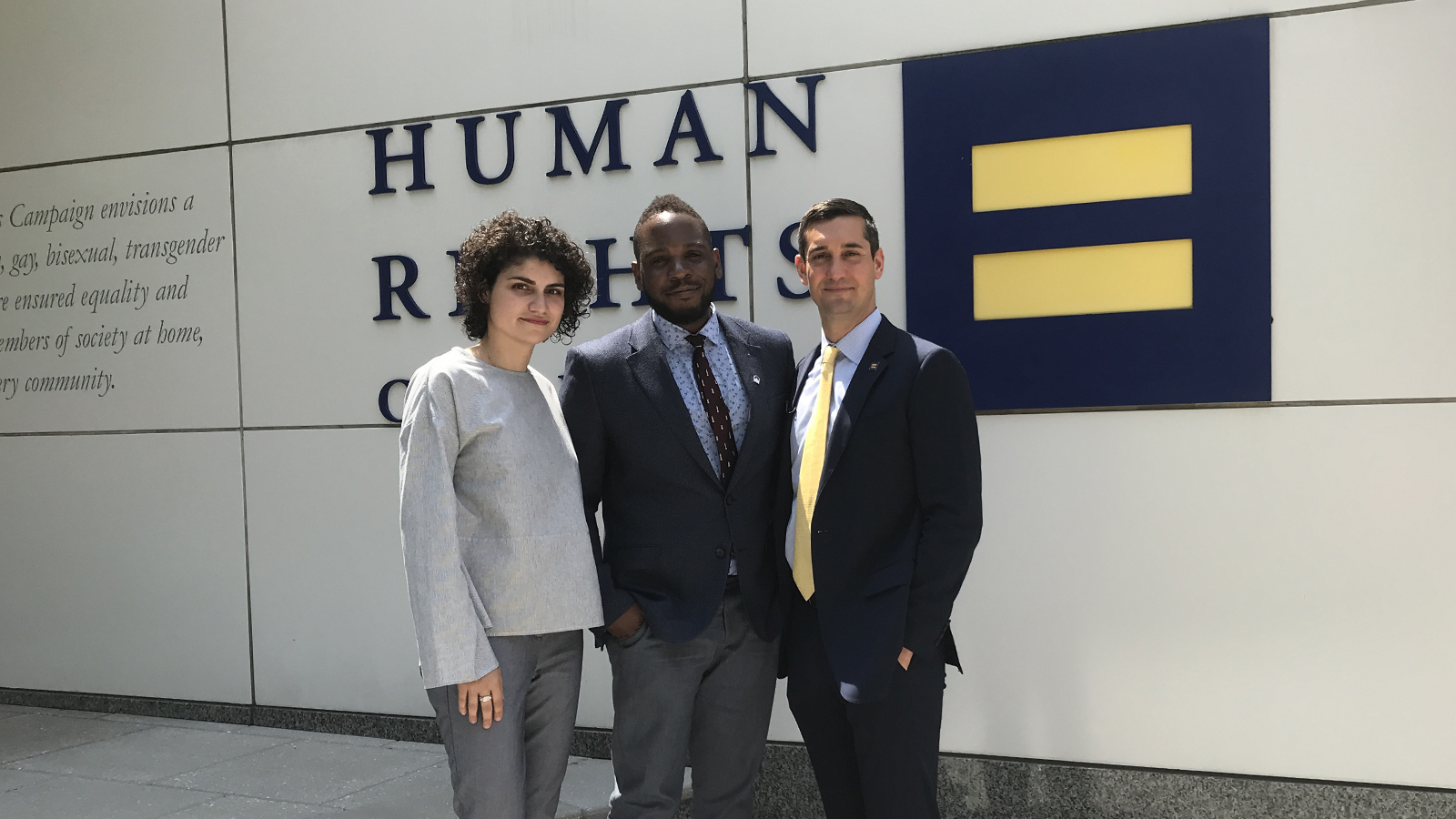 Chechen Refugee and Leader of Rainbow Railroad Join HRC for Meetings in Washington, D.C.