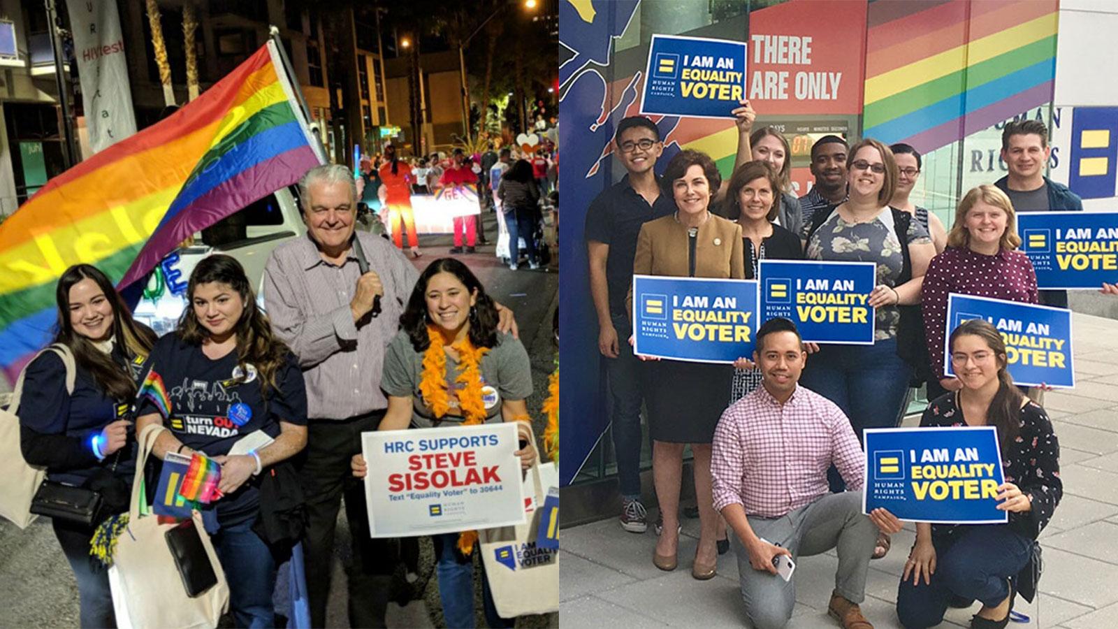 Nevada Gov. Steve Sisolak and Sen. Jacky Rosen to Join HRC for Las Vegas Pride Parade.