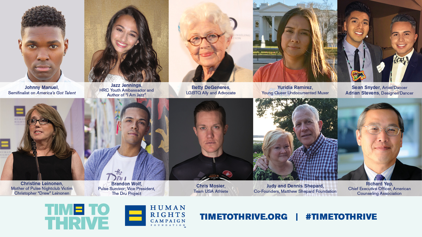 HRC Foundation to Host Time to THRIVE Conference on Youth Safety and Inclusion Feb. 16-18