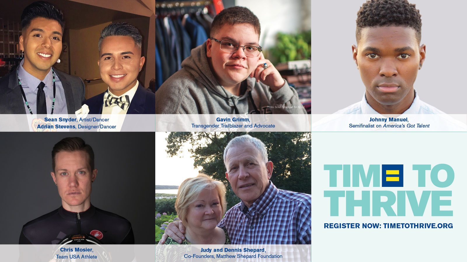 HRC Announces Special Guests at Time to THRIVE Conference on LGBTQ Youth Safety and Inclusion